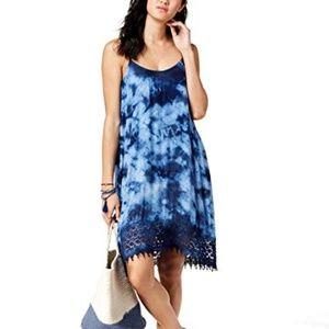 Raviya Crochet-Trim Cover-Up Dress